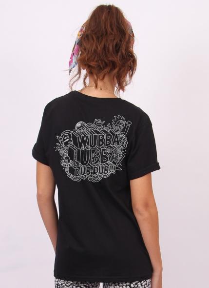 T-shirt Rick And Morty Wubba Lubba Dub Dub