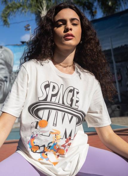 T-shirt Space Jam Basket