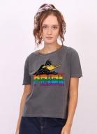 Camiseta Box Feminina Looney Tunes Patolino Pride