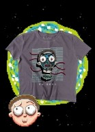 Camiseta Box Rick And Morty Aw Geez