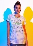 Camiseta Friends Central Perk Flores