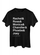 Camiseta Friends Nomes