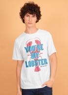 Camiseta Friends Você É Minha Lagosta