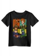Camiseta Infantil Scooby! Heróis