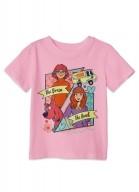 Camiseta Infantil Scooby! Velma e Daphne Girls