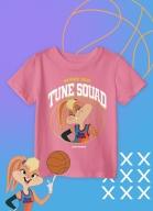 Camiseta Infantil Space Jam Lola Bunny
