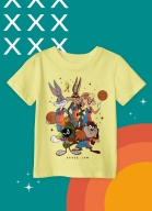 Camiseta Infantil Space Jam Stars