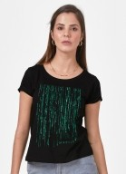 Camiseta Matrix Código