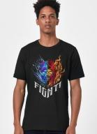 Camiseta Mortal Kombat Sub-Zero vs Scorpion Fight