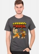 Camiseta Os Flintstones Legends Of Rock