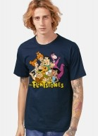 Camiseta Os Flintstones Personagens