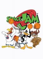 Camiseta Raglan Equipe Space Jam