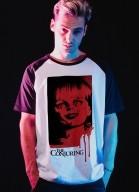 Camiseta Raglan Invocação do Mal Annabelle Sangue