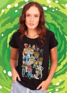 Camiseta Rick And Morty Personagens