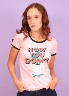 Camiseta Ringer Friends Como Você Está ?