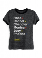 Camiseta Ringer Friends The Reunion Nomes
