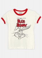 Camiseta Ringer Looney Tunes Bunny Wink Wink