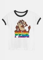 Camiseta Ringer Looney Tunes Taz Pride