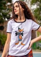 Camiseta Ringer Space Jam Patolino Squad
