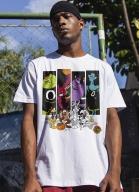 Camiseta Space Jam Quadros