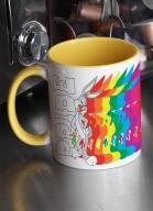 Caneca Looney Tunes Pernalonga Colors Pride