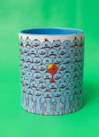 Caneca Rick And Morty Meeseeks