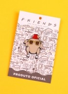 Pin de Metal Friends Peru
