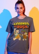 T-shirt Os Flintstones Legends Of Rock