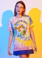 T-shirt Os Flintstones Pedrita Rock'n Girl