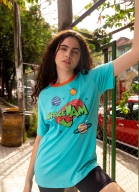 T-shirt Space Jam Planetas