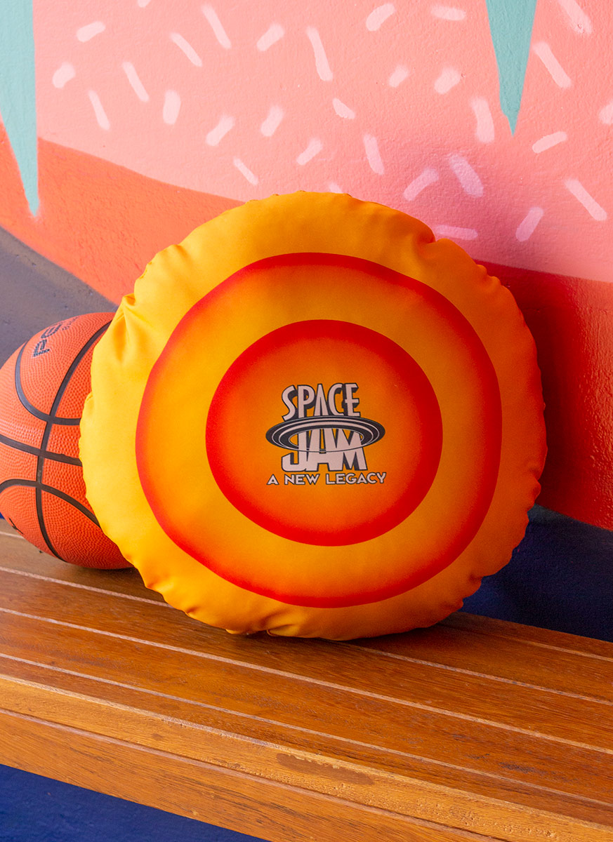 Almofada Redonda Space Jam Taz
