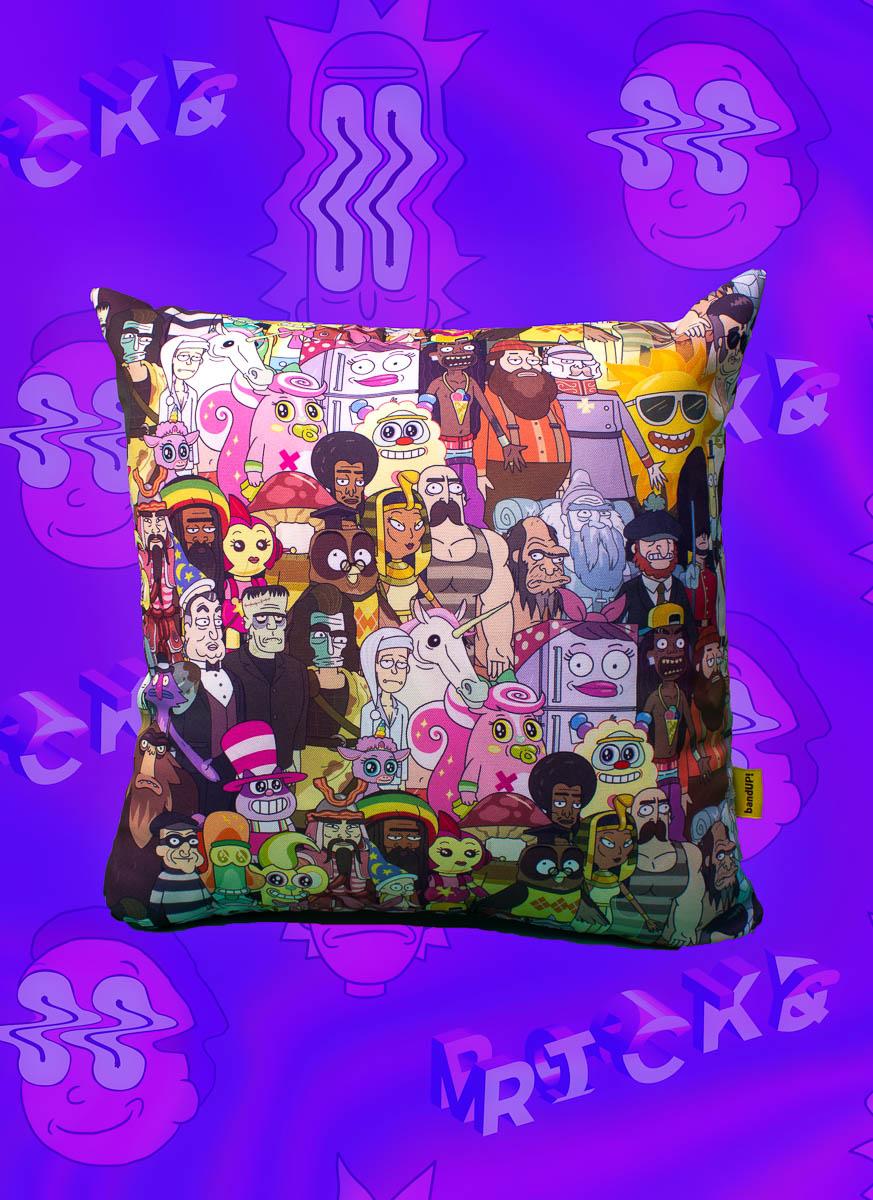 Almofada Rick And Morty Personagens