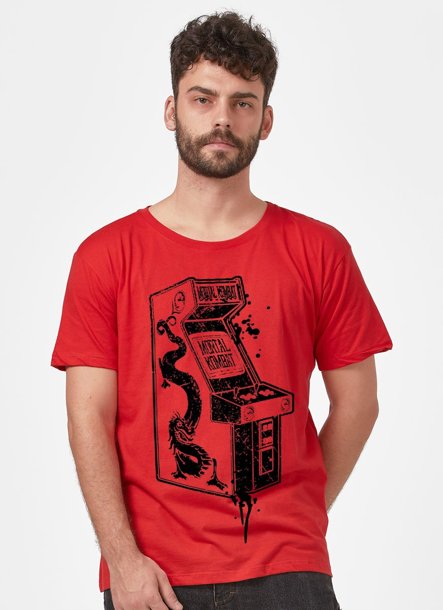 Camiseta Mortal Kombat Arcade