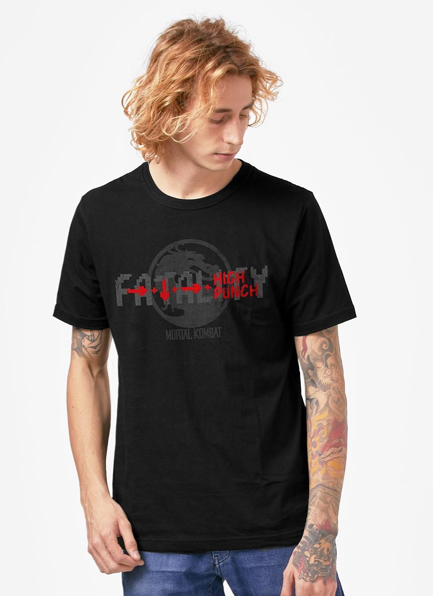 Camiseta Mortal Kombat High Punch