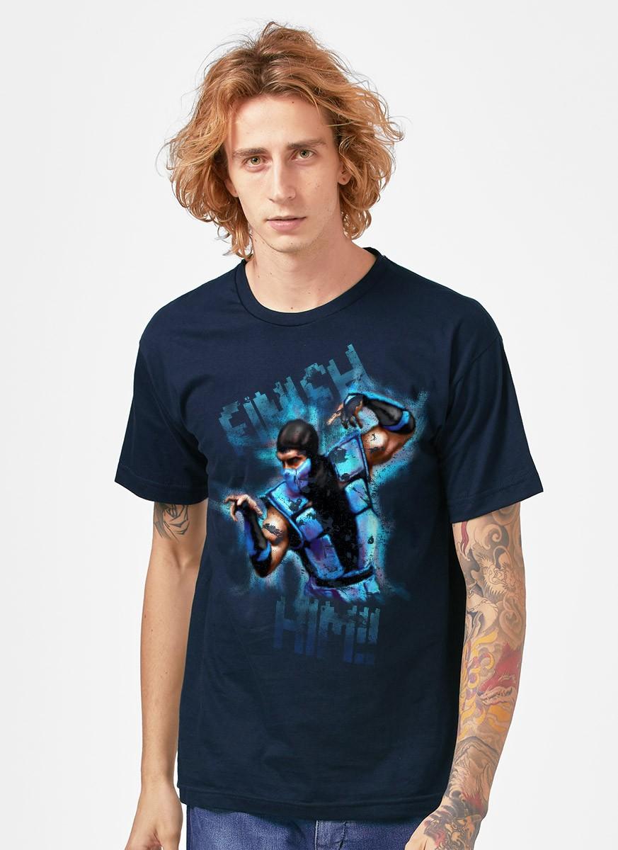 Camiseta Mortal Kombat Sub-Zero
