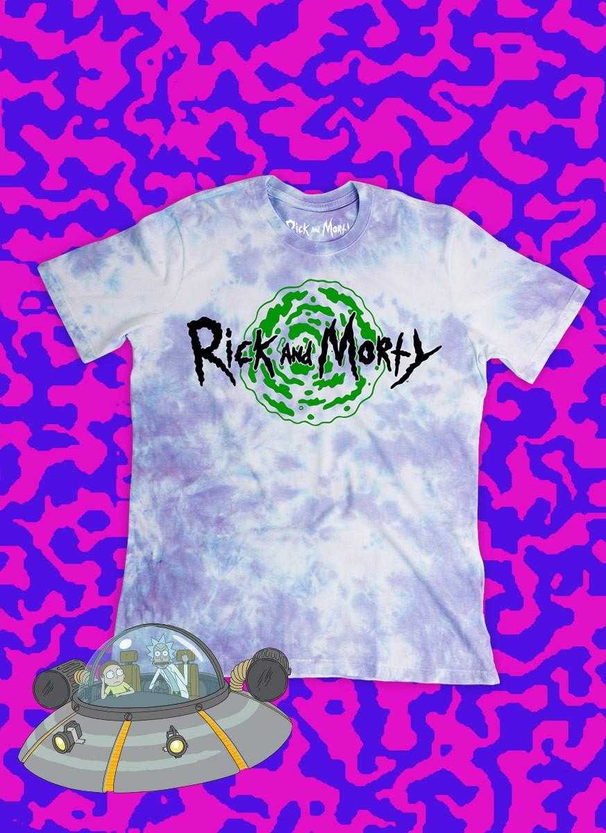 Camiseta Rick And Morty Logo Portal
