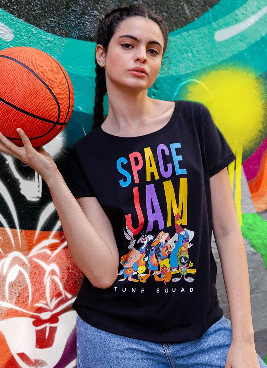 Camiseta Space Jam Colors