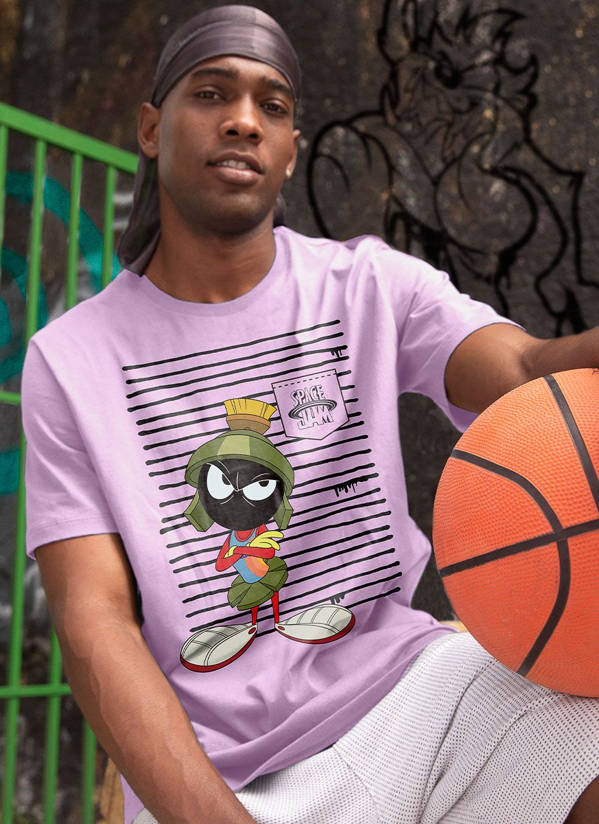 Camiseta Space Jam Marvin Listras