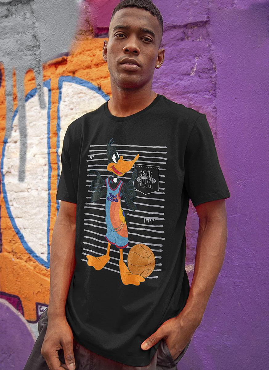 Camiseta Space Jam Patolino Listras