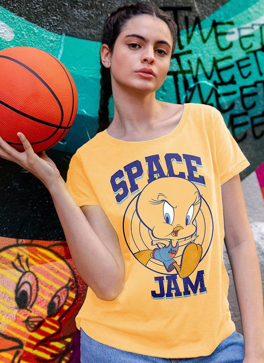 Camiseta Space Jam Piu-Piu