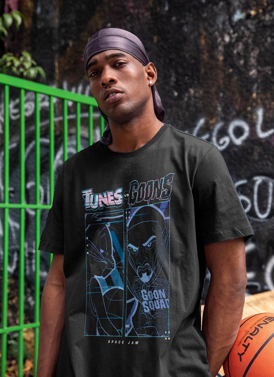Camiseta Space Jam Tunes Goons