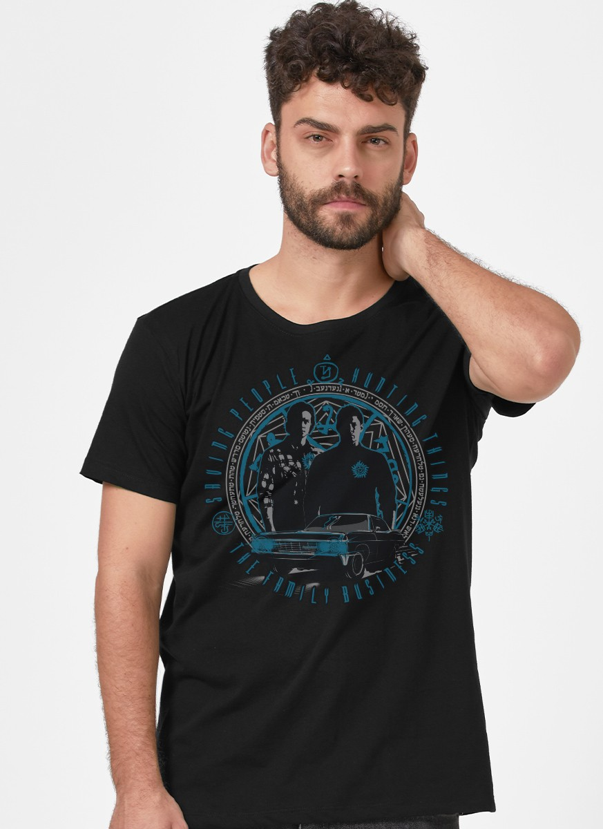 Camiseta Supernatural The Family Business