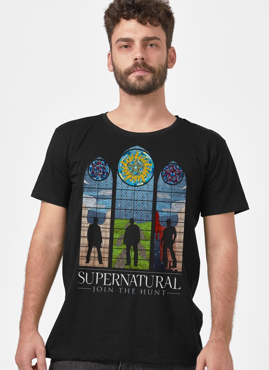 Camiseta Supernatural Vidrais