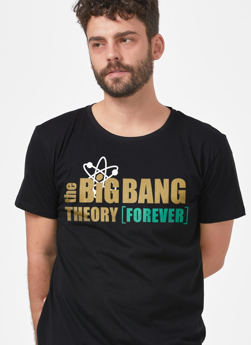 Camiseta The Big Bang Theory Forever