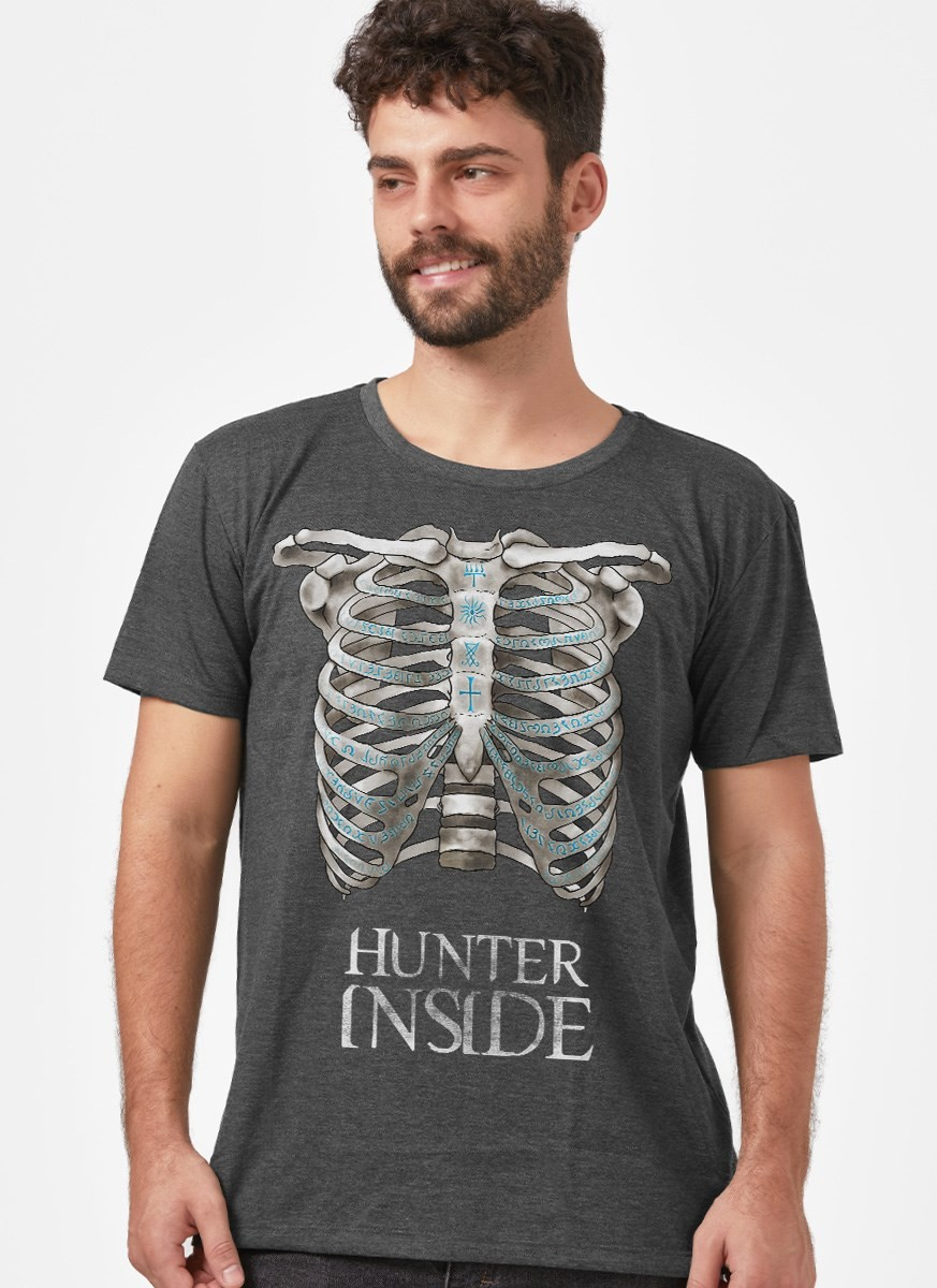 Camiseta Supernatural Hunter Inside