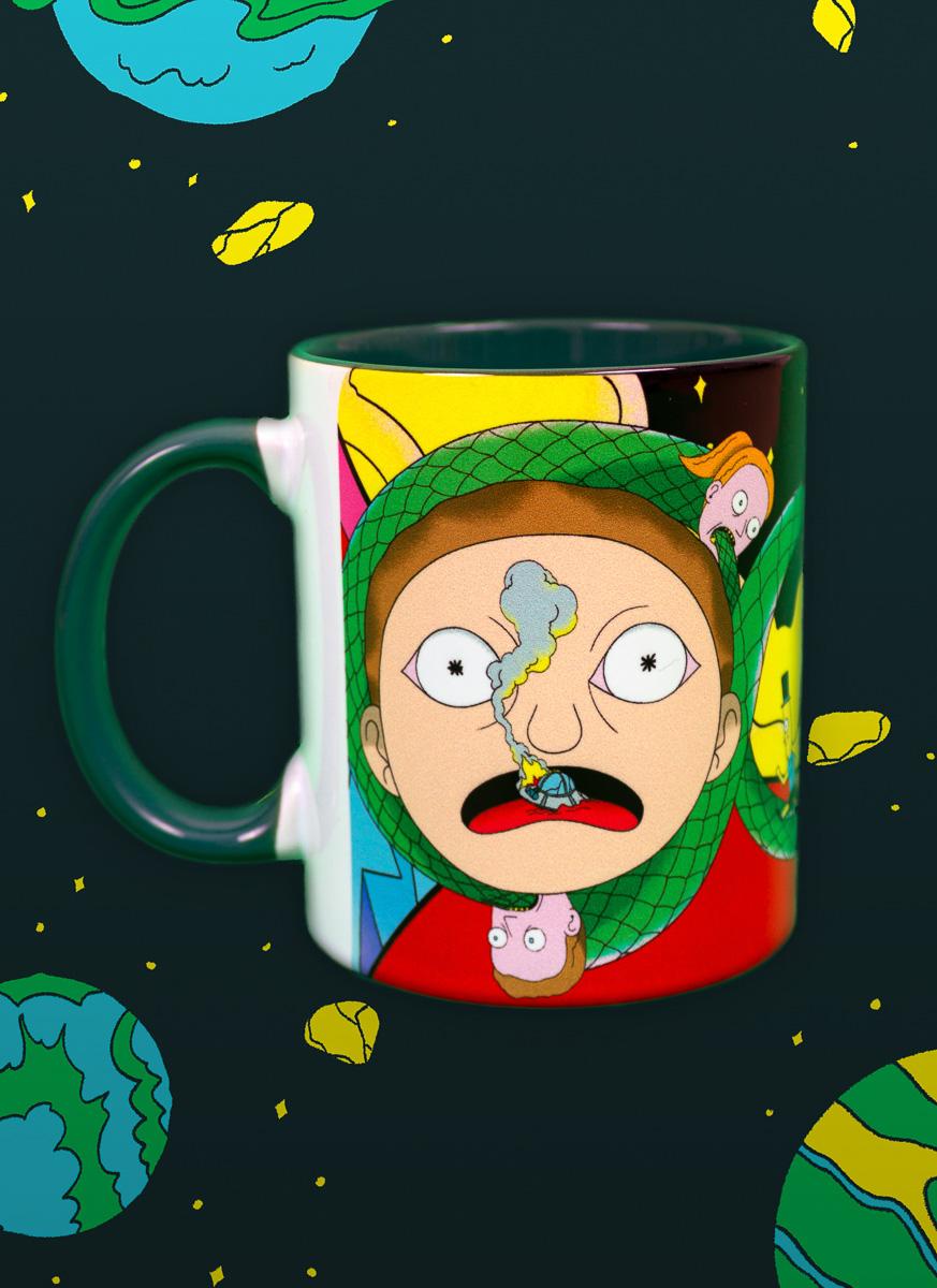Caneca Rick And Morty Imortal