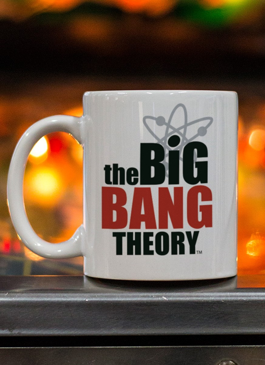 Caneca The Big Bang Theory Logo
