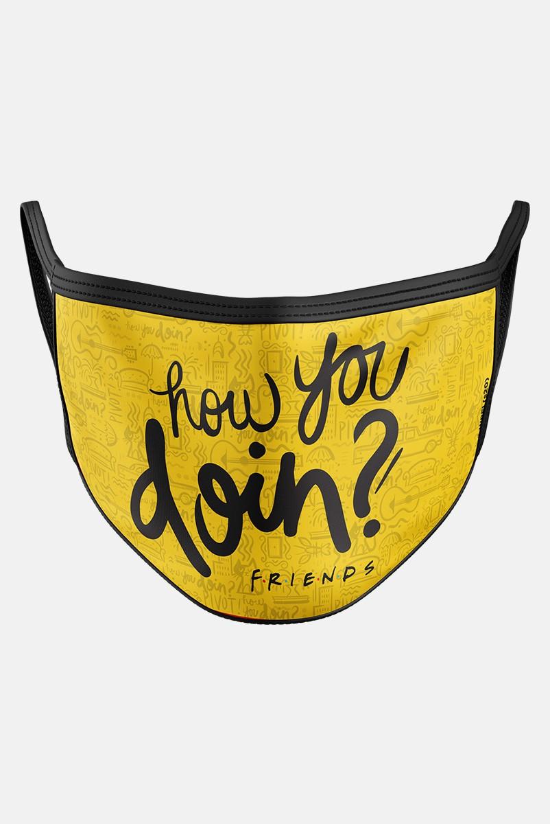 Máscara Friends How You Doin?