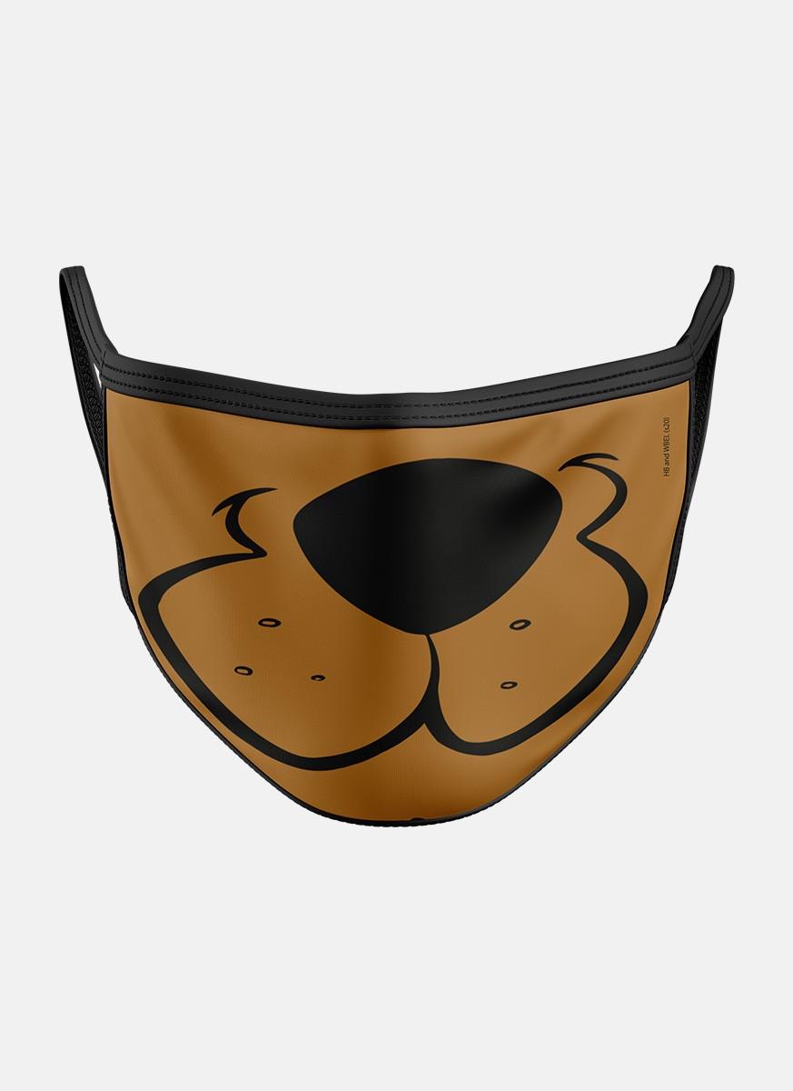 Máscara Scooby! Rostinho