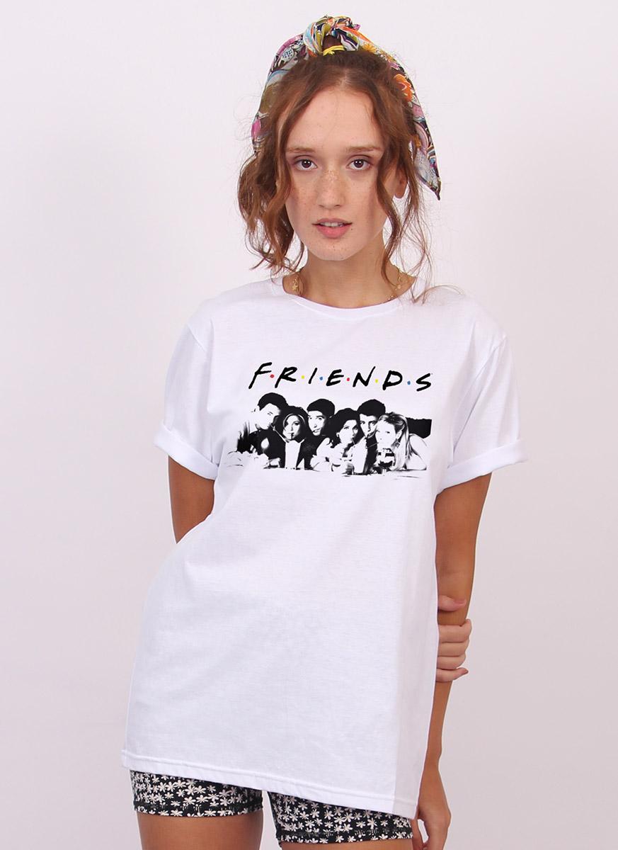 T-shirt Friends Logo The Reunion